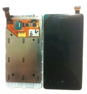 LCD (Дисплей) Nokia 800 Lumia (в сборе с тачскрином) Оригинал