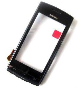 Тачскрин Nokia 500 (в раме) (black) Оригинал