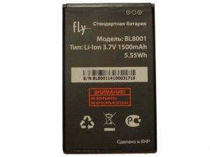 Аккумулятор Fly IQ436 Era Nano 3/IQ4490 Era Nano 4 (BL8001) Оригинал