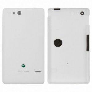 Задняя крышка Sony ST27 Xperia go (white) Оригинал