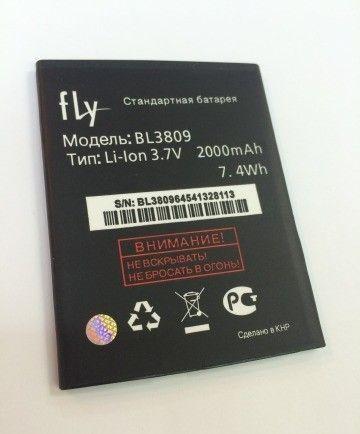 Аккумулятор Fly IQ458 Evo Tech 2/IQ459 EVO Chic 2 (BL3809) Оригинал
