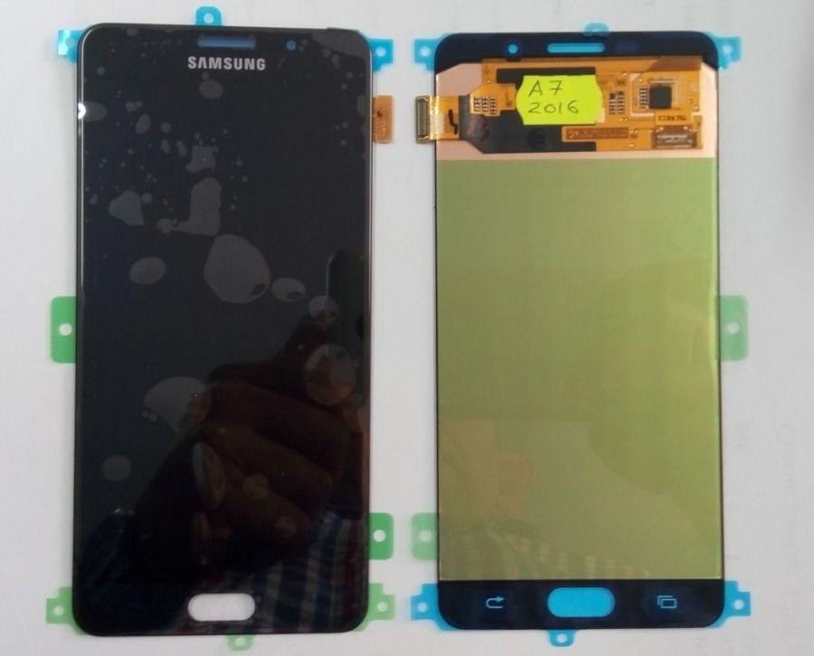 LCD (Дисплей) Samsung A710F Galaxy A7 2016 (в сборе с тачскрином) (black) Оригинал