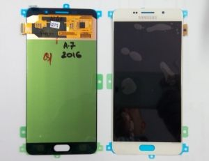 LCD (Дисплей) Samsung A710F Galaxy A7 2016 (в сборе с тачскрином) (white) Оригинал
