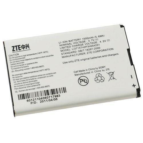 Аккумулятор ZTE MF30/V790 Kis3/ МТС 945 (Li3715T42P3h654251) Оригинал