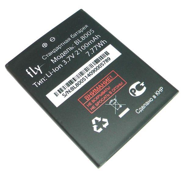 Аккумулятор Fly IQ4512 EVO Chic 4 Quad (BL8005) Оригинал