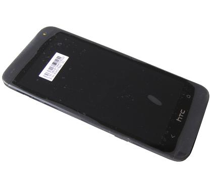 LCD (Дисплей) HTC Desire 601 (в сборе с тачскрином) (в раме) (black) Оригинал