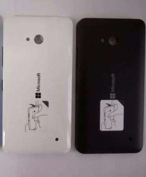 Задняя крышка Microsoft Lumia 640 (black) Оригинал