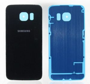 Задняя крышка Samsung G925F Galaxy S6 Edge (blue) Оригинал