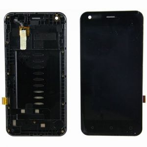 LCD (Дисплей) Fly FS454 Nimbus 8 (в сборе с тачскрином) (в раме) (black) Оригинал