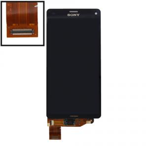 LCD (Дисплей) Sony D5803 Xperia Z3 Compact/D5833 Xperia Z3 Compact (в сборе с тачскрином) (black) Оригинал