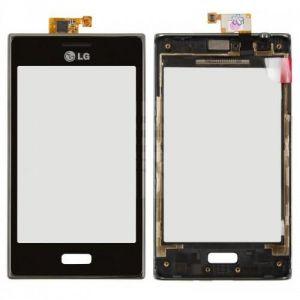 Тачскрин LG E610 Optimus L5/E612 Optimus L5 (в раме) (black)