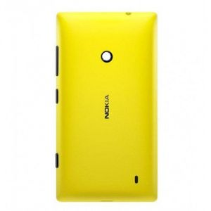 Задняя крышка Nokia 520 Lumia (yellow) Оригинал