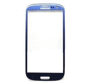 Защитное стекло i9300 Galaxy S3 (blue)
