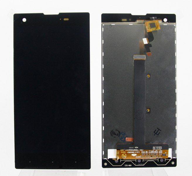 LCD (Дисплей) Fly IQ4511 Tornado One Octa (в сборе с тачскрином) (black) Оригинал